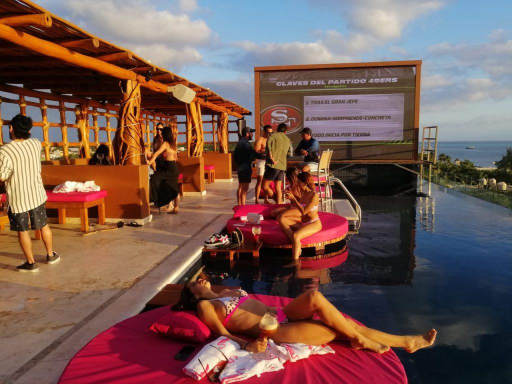 Roof top en isla mujeres