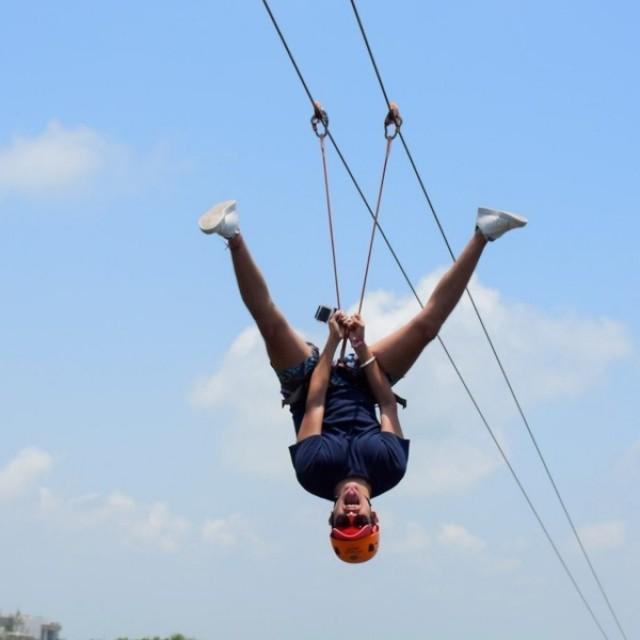 parque maya tour cancun tirolesas