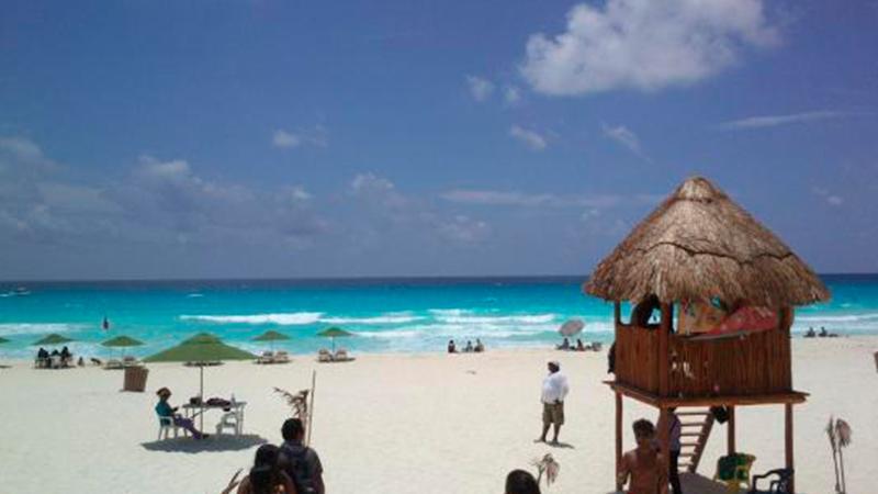playa marlin de Cancun