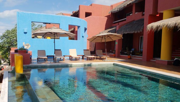 Hotel Boutique Casa de los Sueños en Isla Mujeres